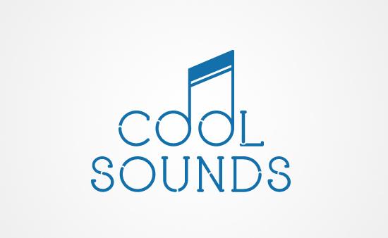 Cool Sounds - Logo Graphic Design