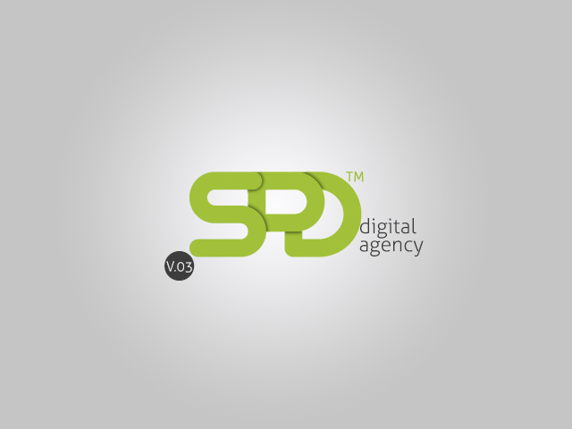 Spdigital interactive agency beta logo graphic for Graphic design agency